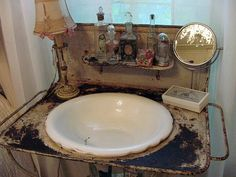 old wash basin <3
