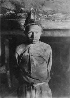 Lewis Hine traveled across the country capturing the appalling working conditions of child laborers.