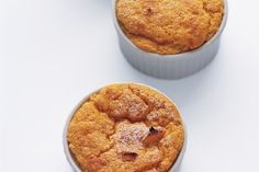 Individual Sweet Potato and Apple Souffles