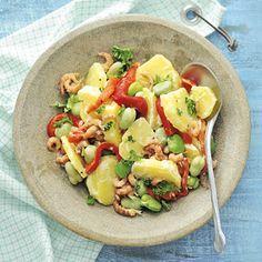 Recept - Opperdoezersalade met garnalen - Allerhande