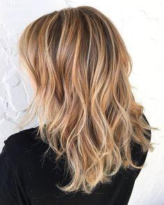 Brown, Caramel And Blonde Hair