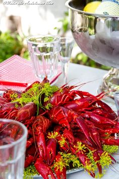 Crayfish season is in full swing - scenes from our annual party!