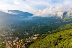 View of Maratea, Italy
