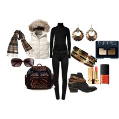 """Black on Black"" by martha-hill-carter on Polyvore"