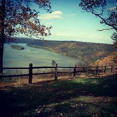 The pinnacle overlook, Susquehanna river.