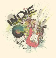 موسیقی ایندی راک یکی از شاخههای موسیقی راک میباشد که به ژانری از موسیقی اشاره دارد که گروههای فعال در آن به صورت مستقل و بیشتر با توجه به سلیقههای شخصی تا قرارگرفتن در چارتهای موسیقی معروف دنیا در موسیقی فعالیت میکنند