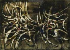 Simon Hantai exhibition at Kalman Maklary Fine Arts, 2011