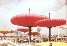 expo 70 osaka - mush balloon