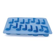 Music Notes Ice Tray
