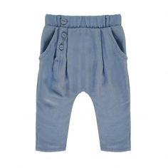 Pantalón Cintura Elástica Good Mood Graublau  Blune Kids