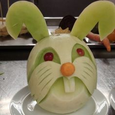 honey dew melon rabbit
