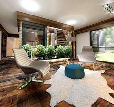 İncek Villa by Kraf&Co. Design Studio, via Behance