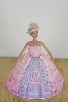 Barbie/Dolly Varden cake