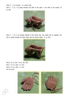 Bích Thị Phạm Crochet Dolls Free Patterns, Crochet Doll Pattern, Doll Patterns, Crochet Toys, Kids Class, Knitted Animals, Doll Parts, Amigurumi Doll, Tatting