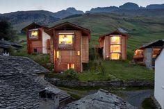 Peter Zumthor, Ralph Feiner · The Unterhus. Leis ob Vals, Switzerland