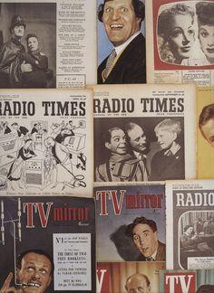 Vintage tv & radio