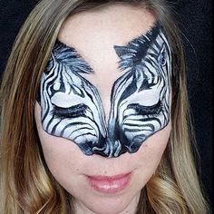 Amazing work by @fabulousfaces77 #faceart #facepaint #facepainter #facepainting…