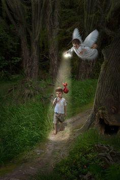 ♥We do entertain angels unaware.♥
