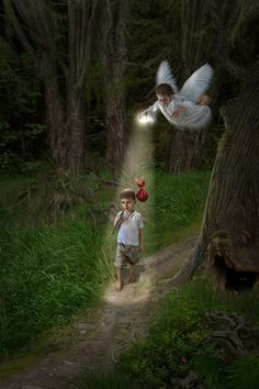 ♥We do entertain angels unaware.♥