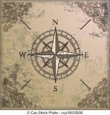 Bilderesultat for vintage compass design