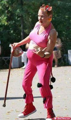 Grandma's got swag