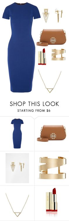 """""""Oh ok"""" by aniyahg ❤ liked on Polyvore featuring Victoria Beckham, Tory Burch, Orelia, Isabel Marant and Banana Republic"""