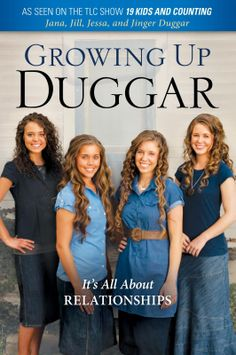"Book Giveaway!  ""Growing Up Duggar"" by the four oldest Duggar girls.  Click on the picture to enter."