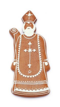 Celebrate the joy of gifts with these Saint Nicholas day decorations, marking the start of the winter holiday season. Christmas In Holland, Christmas And New Year, Christmas Cookies, Gingerbread Cookies, Christmas Cards, St Nicholas Day, December Holidays, Dutch Recipes, Cookie Decorating