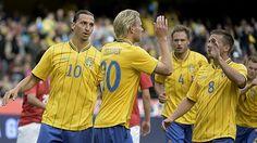 Zlatan...born and raised in Malmö sweden...