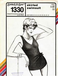 98 best 80s vintage fashion images in 2019 1980s fashion vintage 1980 Gunne Sax Dress 1980s stretch sew 1330 uncut vintage sewing pattern misses one piece swimsuit maillot skirted swimsuit bathing suit size 30 44