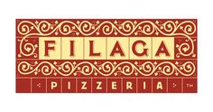 separacion de letras por cuadros  Filaga — Louise Fili Ltd
