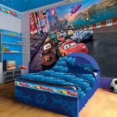 Disney Pixar Cars World Race Photo Wallpaper Wall Mural (CN 4 013P) Part 87
