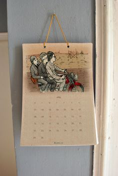 2013 Calendar Wes Anderson wall calendar. I MUST HAVE!!