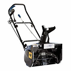Snow Joe Ultra 18 in. Amp Electric Snow Thrower with Light - Holiday lights aren't the only ones to illuminate the winter season - the Snow Joe Ultra 18 in. Amp Electric Snow Thrower with Light will light. Electric Snow Blower, Electric Light, Electric Power, Electronic Recycling, Recycling Programs, 5 D, Outdoor Gardens, In The Heights, Outdoor Power Equipment