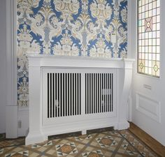 Radiator covers by Chiselwood Ltd for entire Edwardian house renovation