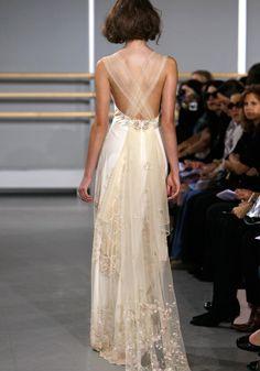 CLOISONNE wedding gown by Claire Pettibone Bridal