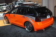 Custom Ford Edge at #SEMA 2010