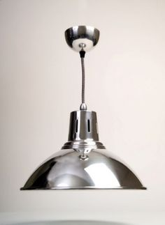 The Chrome Milan Pendant Light - one of our most popular lights.