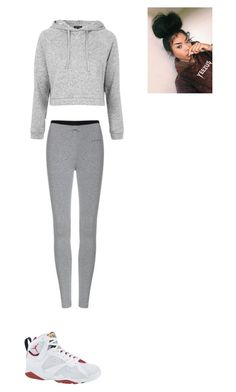 """outfit for sunday"" by mayawhite04 ❤ liked on Polyvore featuring Topshop"
