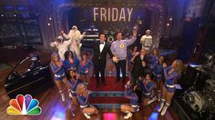 Stephen Colbert Sings Friday with Jimmy Fallon and The Roots (Late Night...