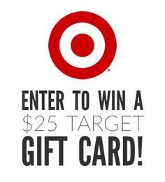 Enter to win a $25 Target Gift Card on hellonatureblog.com!