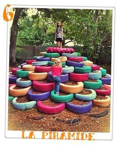 neumáticos-reciclados-juegos-para-niños