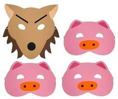 Image result for preschool wolf mask