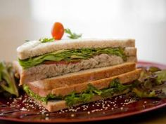 Sanduíche natural de atum - Tudo Gostoso