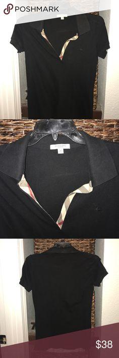 Burberry Classic Polo Burberry polo with signature plaid v neck line Burberry Tops Tees - Short Sleeve