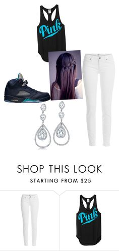 """""""wwe"""" by yattashanna ❤ liked on Polyvore featuring Paige Denim, Bling Jewelry and Retrò"""