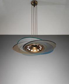 PHILLIPS : Max Ingrand, Ceiling light