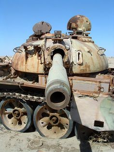 File:Rusting tank at the Highway of Death in Iraq.jpg - Wikimedia Commons
