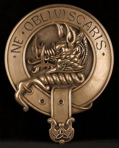 Clan Campbell Badge - Motto: Ne Obliviscaris (Latin for Forget Not)