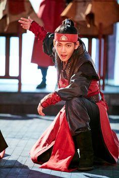 Taehyung as Hansung in Hwarang <3